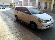 Used condition Toyota Innova 2009 with +200,000 km mileage