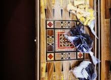 طاولة زهر دمشقيه