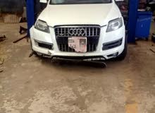 White Audi Q7 2012 for sale