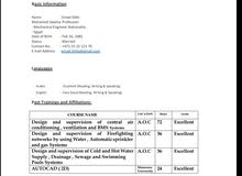 (Senior engineer) mechanical engineer