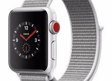 apple watch series 3 ساعة ابل مستعملة بحالة ممتازة