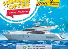 Yacht Hire Dubai - Exciting Dubai Summer Surprises