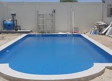 أحواض السباحه بأسعار مناسبة تنفيذ وتشطيب