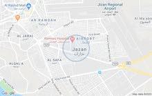 اراضي سكنية للبيع منطقة جازان بمدينة جيزان
