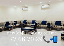 New  sofa making & Majlis making