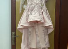 فستان من المصممه لطيفه عبد القادر