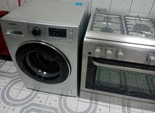 hoover cooking range and samsung washing machine