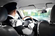مطلوب سائق مع سيارة