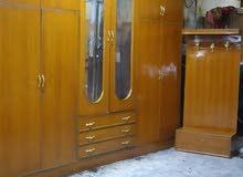 غرفة نوم ست أبواب ملحق صاج تزكام مستخدم نظيفه ضهر كنتور ضب براغي جرجوبه  السعر 5