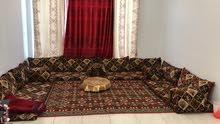 جلسة عربية 4 قطع استعمال خفيف جدا