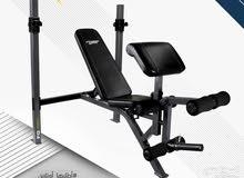جهاز رياضي متكامل لجميع التمارين و تقدر تعدل عليه و على الارتفاع مع البار والوزن