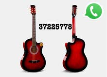 """38"""" red color acoustic guitars"""