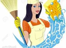 خادمات وعاملات منازل يومي شهري