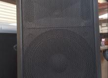 جهاز مكبر صوت مع مسجل cd