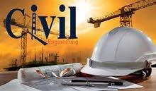 مهندس مدنى خبرة ( 9 )  سنوات  منها (  6 )  سنوات بالمملكة