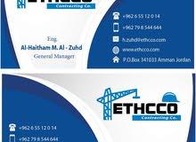 ETHCCO للمقاولات  فلل ،قصور،عظم،صيانه عامه وتسليم مفتاح مصانعه او  بمواد