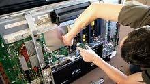 صيانة شاشات التليفزيون والريسيفر ومكبرات الصوت