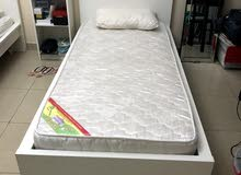 سرير خشب مفرد مقاس 1x2m ايكيا