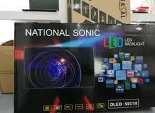 شاشات ناشونال سونيك LED HD جديدة 50 انش بسعر خرافي