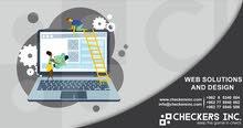 تصميم المواقع الالكترونية وبرمجة التطبيقات