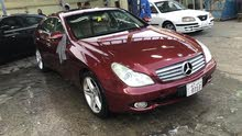 Maroon Mercedes Benz CLS 350 2005 for sale