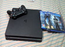 ps4 slim with 3 games