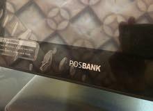 كاشير pos bank للبيع استعمال أقل من سنة + طابعة