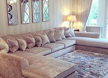 مفروشات الواحة لتفصيل الستائر والجلسات والكراسي