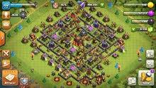 تاون هول 10 ماكس قوية جداً + 6000 جوهرة  clash of clans