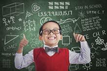 معلمة خصوصي لتدريس المواد العلمية واللغة الانجليزية