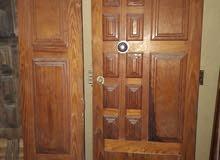 باب مدخل خشبي