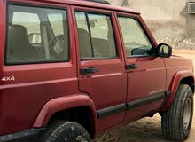 For sale 1999 Red Grand Cherokee