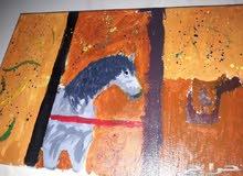 لوحه حصان