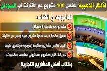 كتاب الافكار الذهبية لأفضل 100 فكرة مشروع عبر الانترنت في السودان