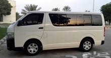 Gasoline Fuel/Power car for rent - Toyota Hiace 2015