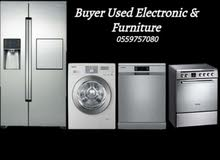 Used furniture  Buyers & Electronics   Call 0559757080  najeeb