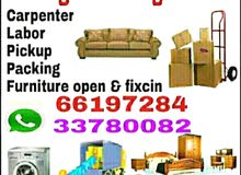 furniture moving & shifting service