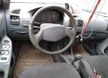 Hyundai Accent 2002 For sale - Grey color