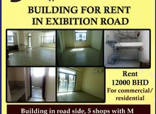 building for rent in exhibition area with 21 semi furnished apartments
