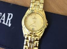 ساعة swisstar سويسرية ذهبية بيع او بدل