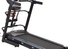 سير جري ممتاز كبير الحجم   يحمل 120 kg  متعدد الوظائف: _ سير مشي او جري  _ حزام