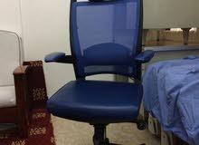 كرسي مكتب كمبيوتر ماليزي مدعم للظهر والرقبه