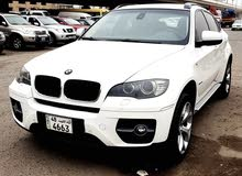 White BMW X6 2010 for sale
