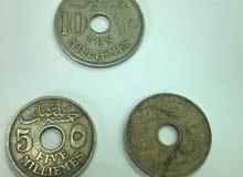 عملات مصرية - حسين كامل 1916 - 1917
