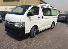 for sale hiace 6 seater chiller van model 2013 in good condition