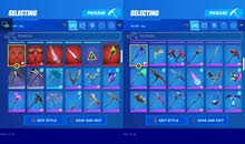 fortnite account from s3 chapter 1 to the current season