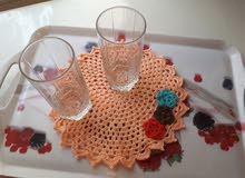 handmade crochet table coaster...