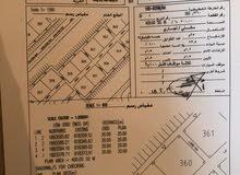 للبيع ارض سكنية تجارية ممتازة في صلالة عوقد الشمالية شبه كونر القطعة 360