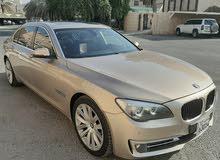 الي يدور النظيف ماشاء الله  بي ام دبليو BMW 740LI الغانم  موديل 2014  بحالتها