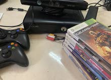 Xbox 360 with Camera and free original games